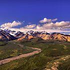 Alaska Range by Michael Atkins