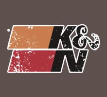 K&N Racing Performance Filters Dark Colours by No17Apparel