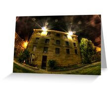 Maitland Gaol Cell Block Greeting Card