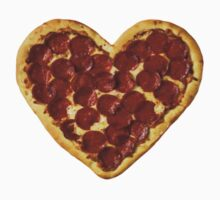 Pizza Heart by Deborah Hwang