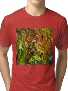 modern composition 20 by rafi talby Tri-blend T-Shirt