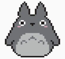 Pixel Totoro Kids Clothes