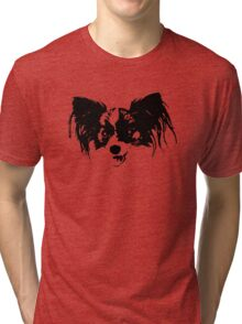 Dog head Tri-blend T-Shirt