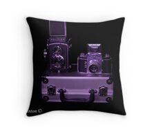 Lights, camera, action Throw Pillow