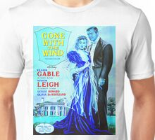 English poster of Gone with the Wind Unisex T-Shirt