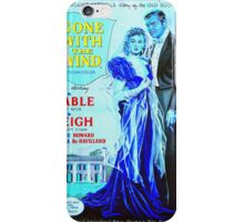 English poster of Gone with the Wind iPhone Case/Skin