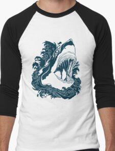 Shark Week Men's Baseball ¾ T-Shirt