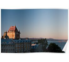 The Chateau Frontenac Poster