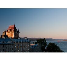 The Chateau Frontenac Photographic Print