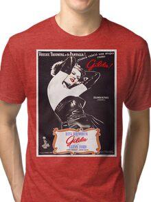 Argentinian poster of Gilda Tri-blend T-Shirt