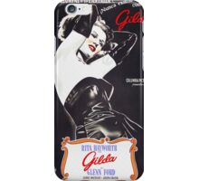 Argentinian poster of Gilda iPhone Case/Skin