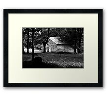 Pioneer Days.. Framed Print