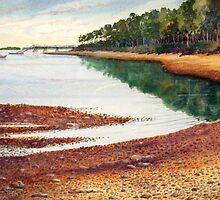 Penobscot Bay by Roger Rockefeller