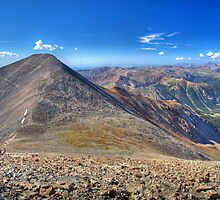 Grays Peak from Torreys  by activebeck2012