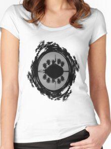 ©DA-HCS The Island II Monochromatic Women's Fitted Scoop T-Shirt