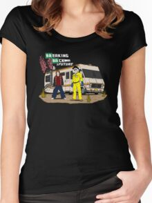 Breaking Back to the Future Women's Fitted Scoop T-Shirt