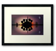 ©DA-HCS The Island II Framed Print