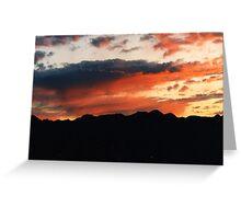 Sunrise, Pacific Trail, Washington State Greeting Card