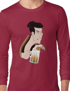 Ukiyoe Kampai! Long Sleeve T-Shirt