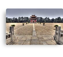 Eastern Qing Tombs Canvas Print