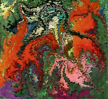 modern composition 22 by rafi talby by RAFI TALBY