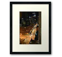 Denver Nights Framed Print