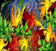 modern composition 23 by rafi talby by RAFI TALBY