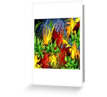 modern composition 23 by rafi talby Greeting Card