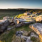 Gardoms Edge Sunset by James Grant