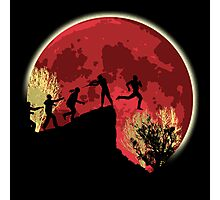 Zombies! Run you fool... Photographic Print