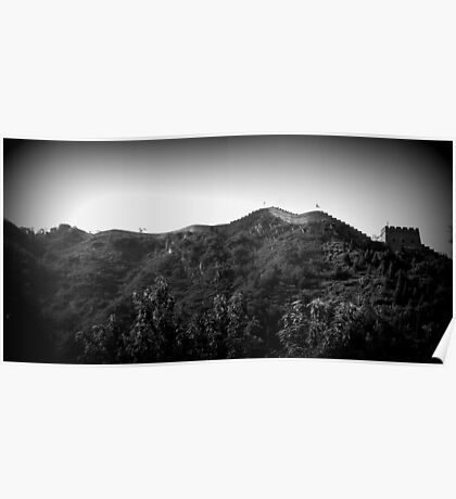 The Great Wall Panorama Poster