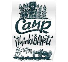 Camp Yeti Poster