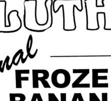 Bluth's Original Banana Stand Logo Sticker