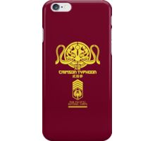Crimson Typhoon (Yellow) iPhone Case/Skin