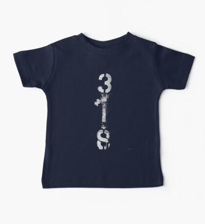 3IS black and white Baby Tee
