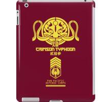 Crimson Typhoon (Yellow) iPad Case/Skin