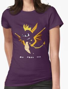 Spyro the Dragon Womens Fitted T-Shirt