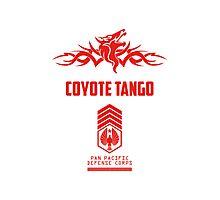 Coyote Tango (Red) Photographic Print