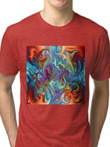 modern composition 24 by rafi talby Tri-blend T-Shirt