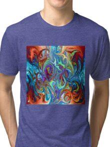 modern composition 24 by rafi talby Tri-blend T-Shirt