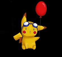 Pikachu and the Ballon by wes151