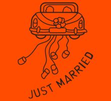 Just Married Getaway Car by monkeybrain