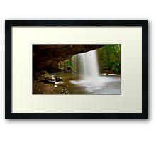 """Under The Falls"" Framed Print"