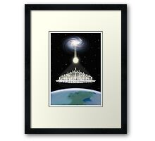 Ascension 7th Golden Age Poster Framed Print