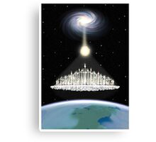 Ascension 7th Golden Age Poster Canvas Print