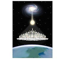 Ascension 7th Golden Age Poster Photographic Print