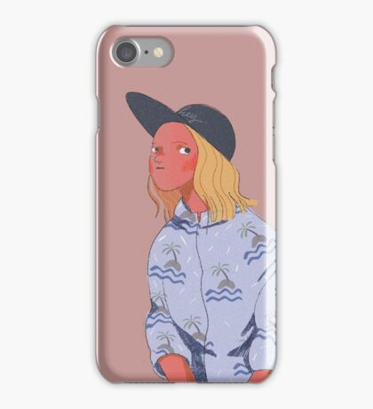 Hawaii Girl iPhone Case/Skin