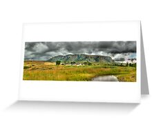 Colourful Community Panoramic Greeting Card