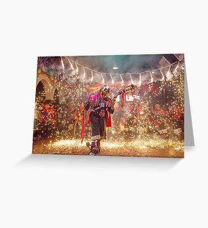 Carnaval Greeting Card