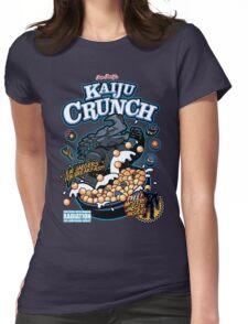 Kaiju Crunch Womens Fitted T-Shirt